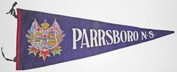 Parrsboro Nova Scotia pennant