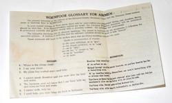 RAF  RAAF language aid for airmen