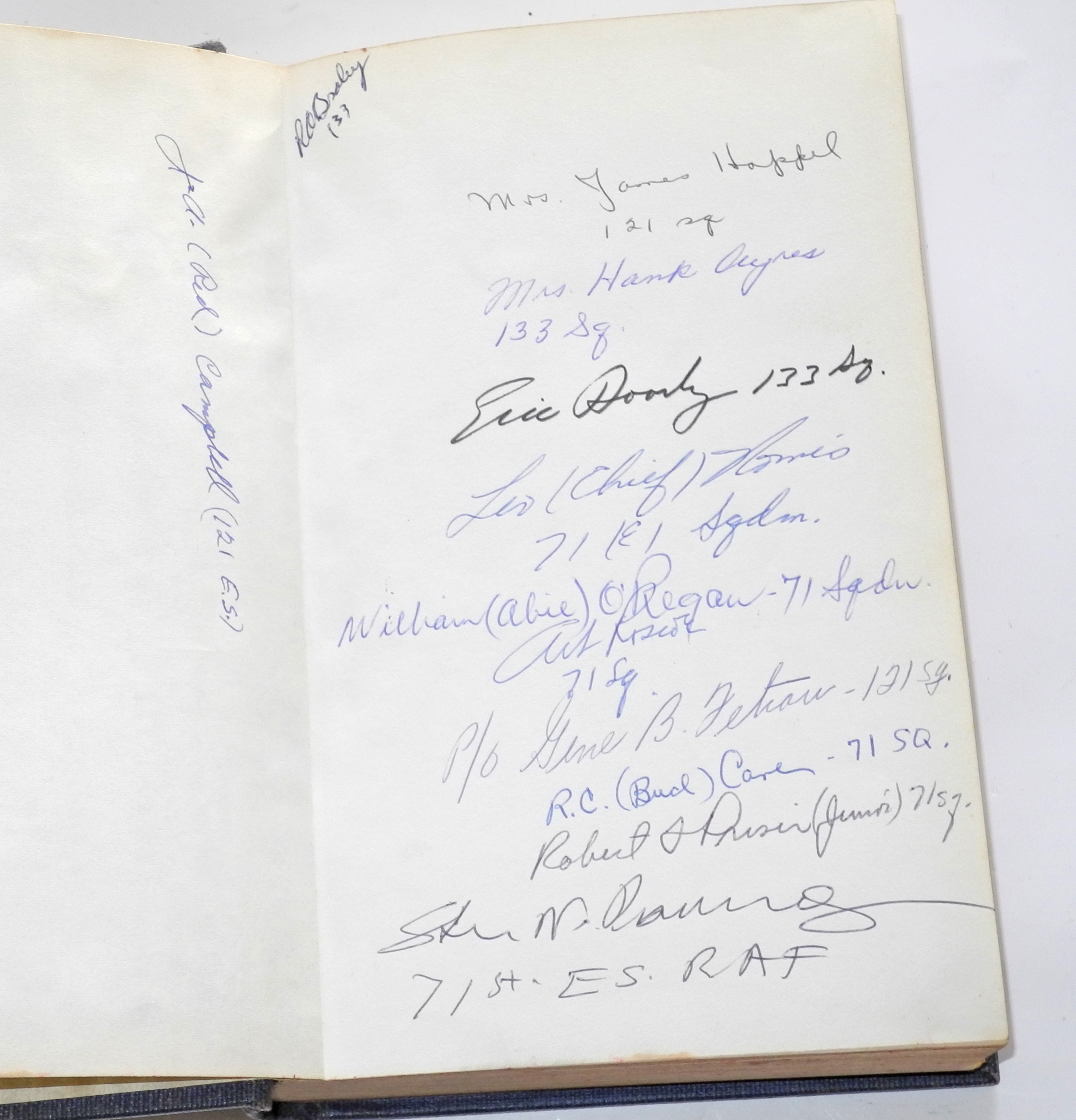 Eagles Roar - signed ES book