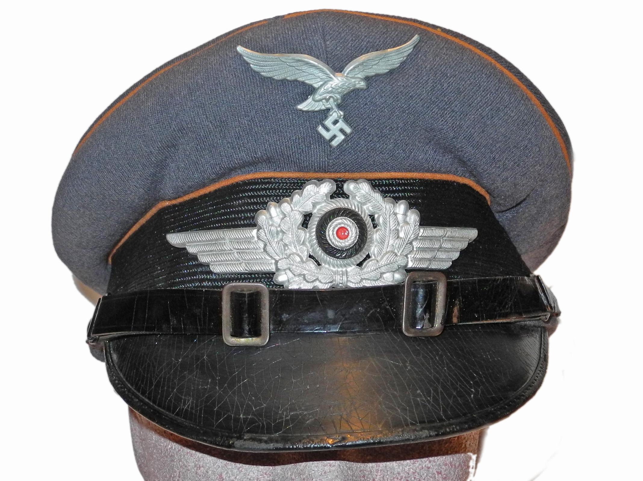 LW signals enlisted visor cap