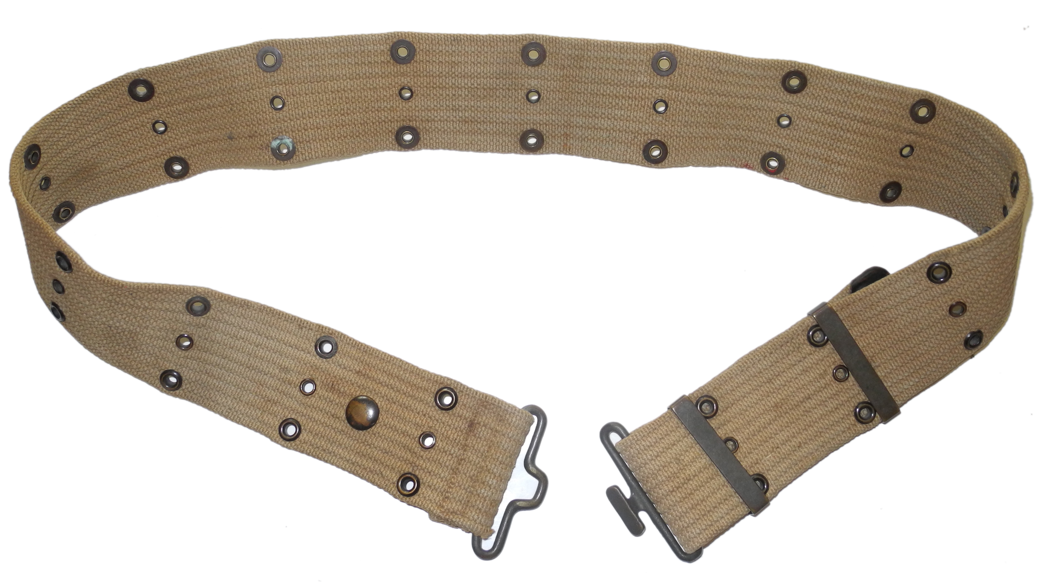 US Army belt and mess kit