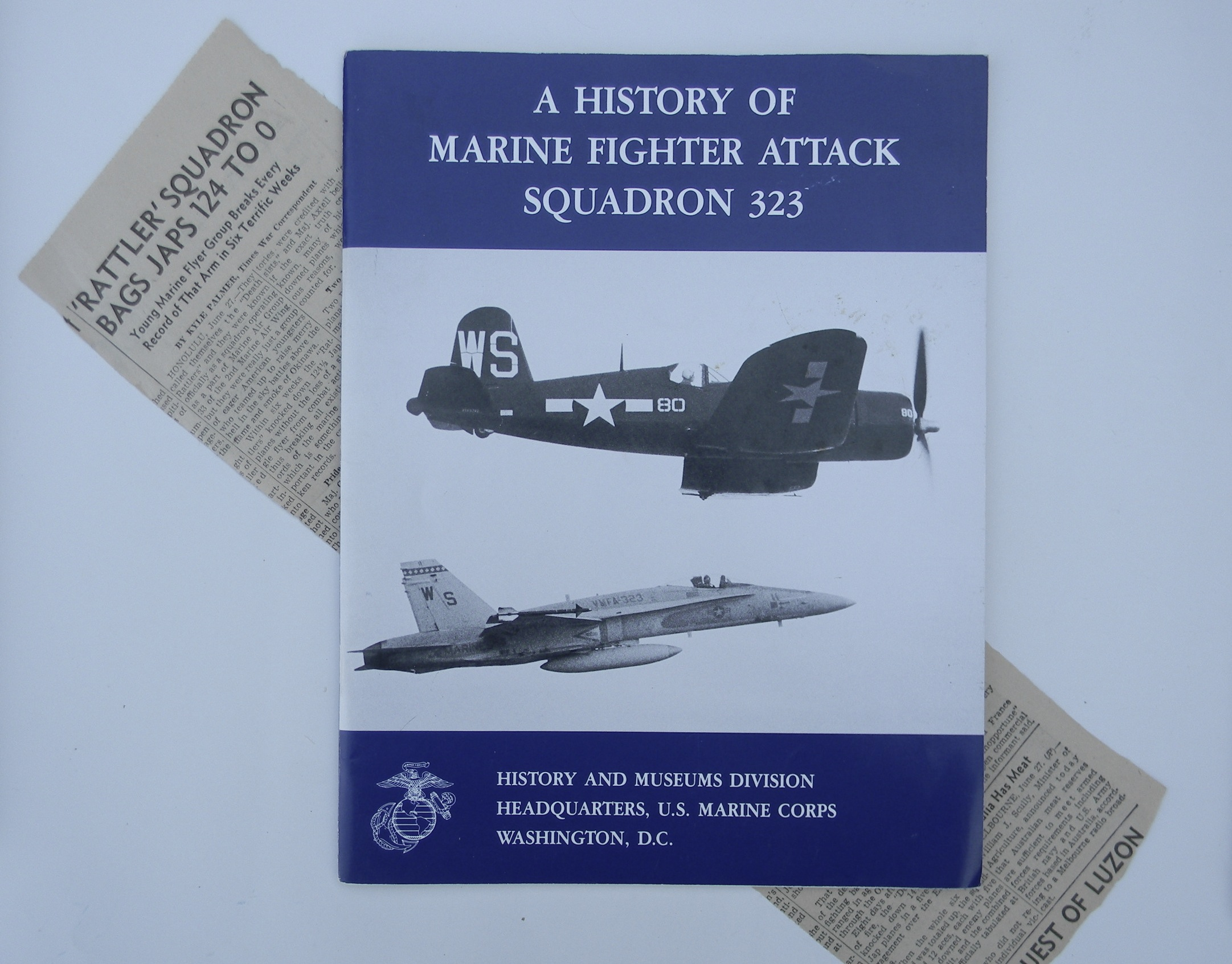 VMF-323 history