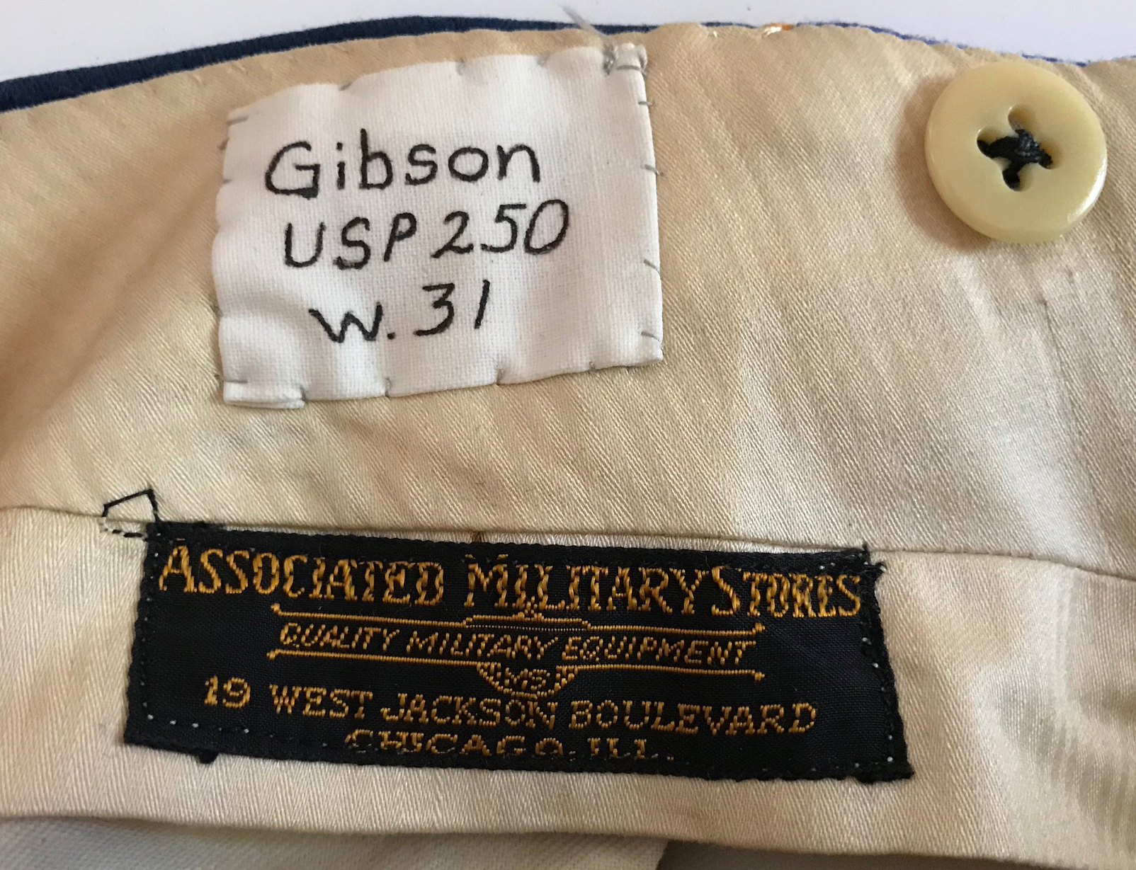 WWII era US Army Dress trousers