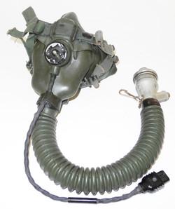 RAF A-13A pressure breathing oxygen mask
