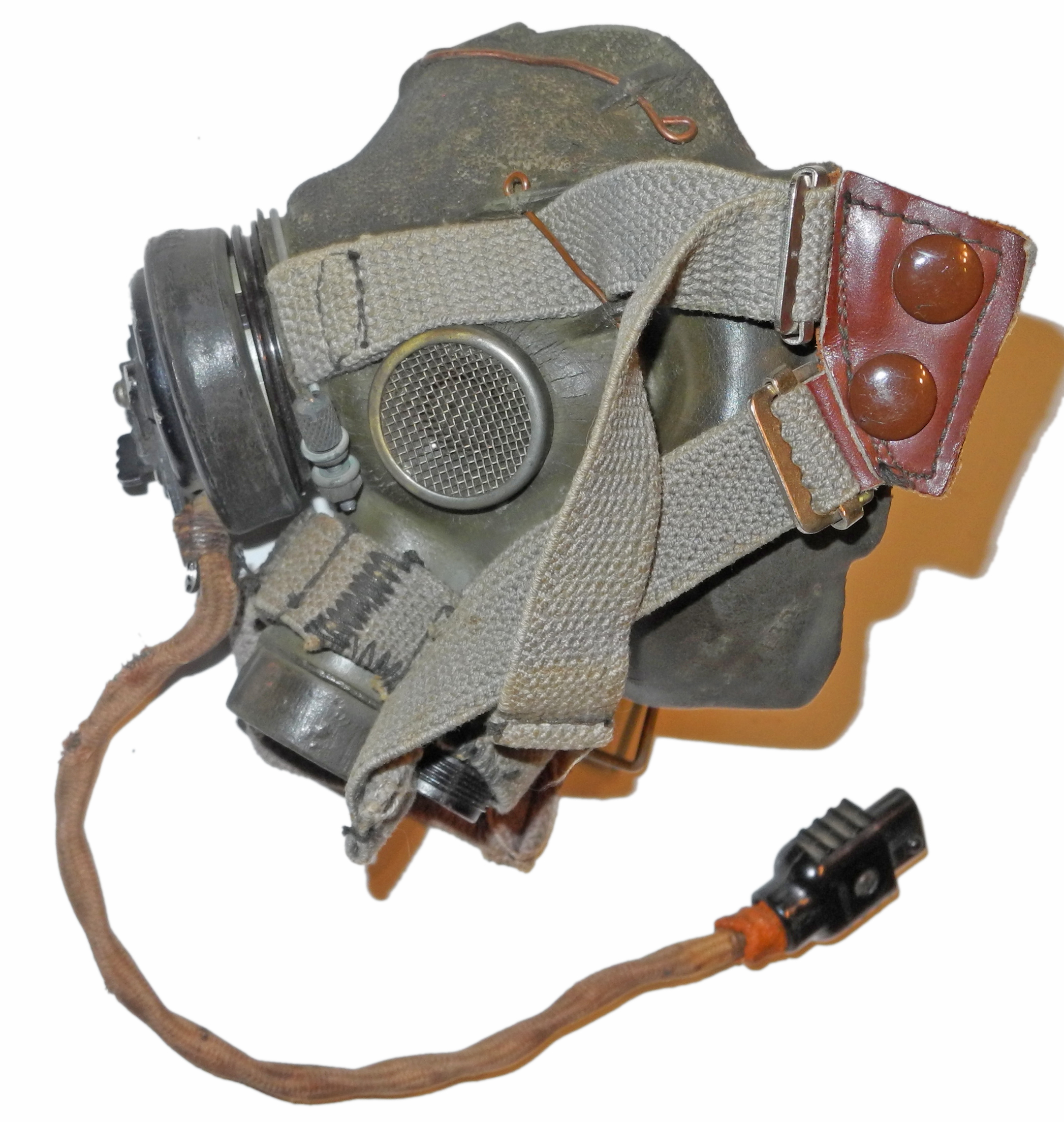 Early RAF Type G oxygen mask