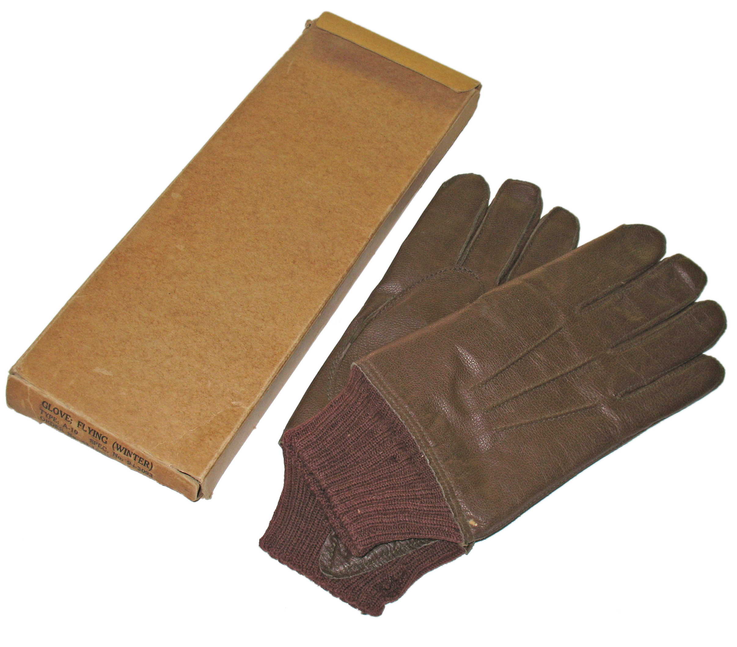 AAF A-10 gloves unused original box