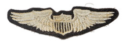 AAF embroidered pilot wing