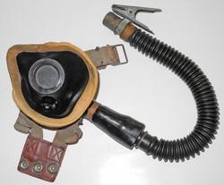 RAF Type E* Oxygen Mask with hose/tube.