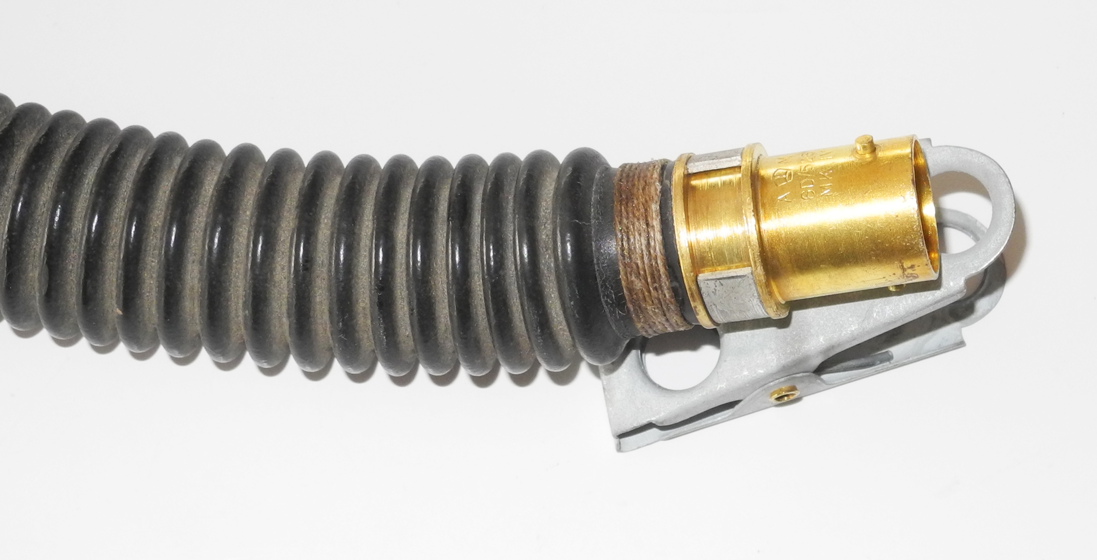 RAF G / H mask hose / tube