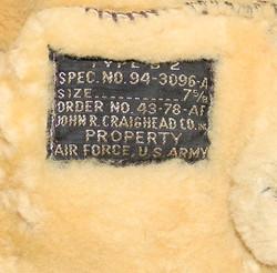 703rd BS AAF named B-2 flight cap