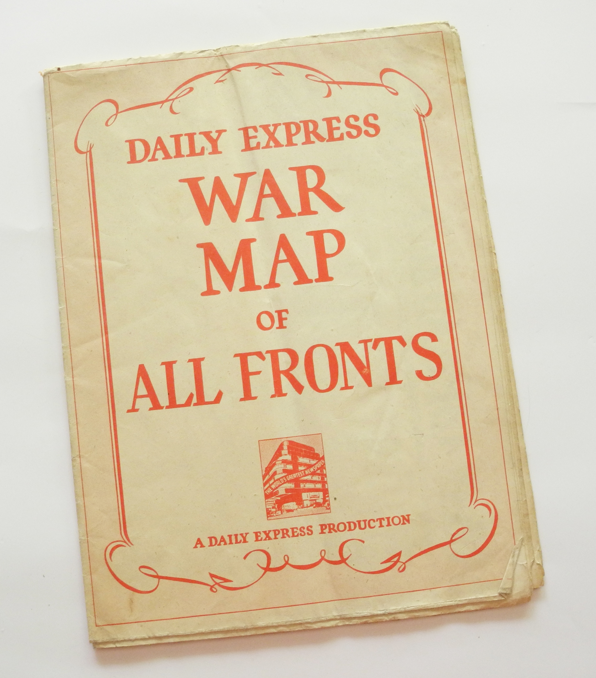Daily Express War Map