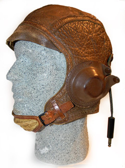 Army Air Corps A-7 flying helmet