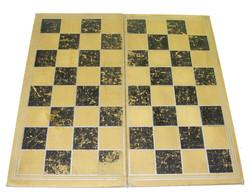RAF issue chess / backgammon board