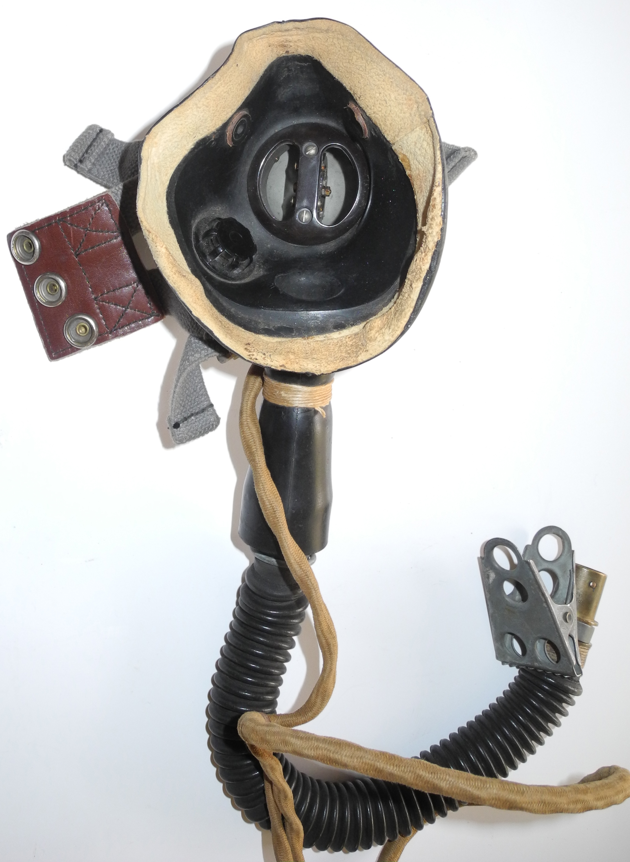 RAF Type E* mask with Type 28 mic