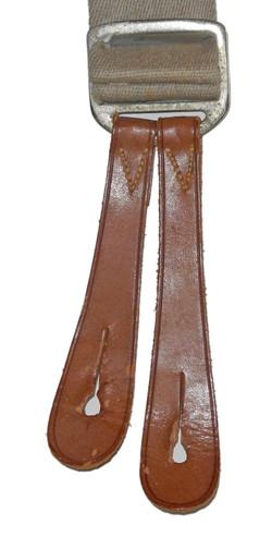 RAF trouser braces dated 1942