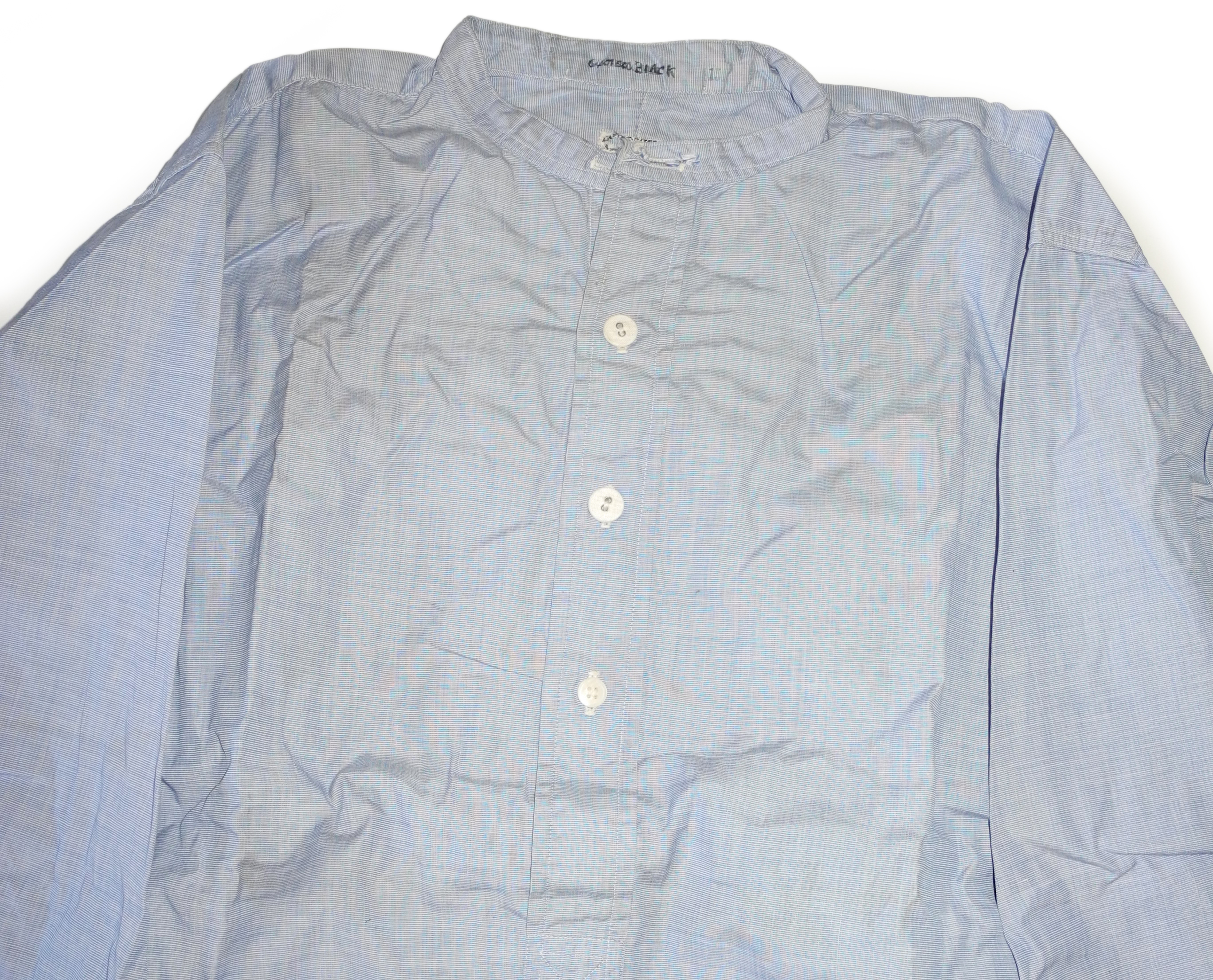 RAF officer's shirt + collar