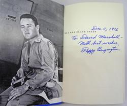 Boyington/Kawato signed grouping