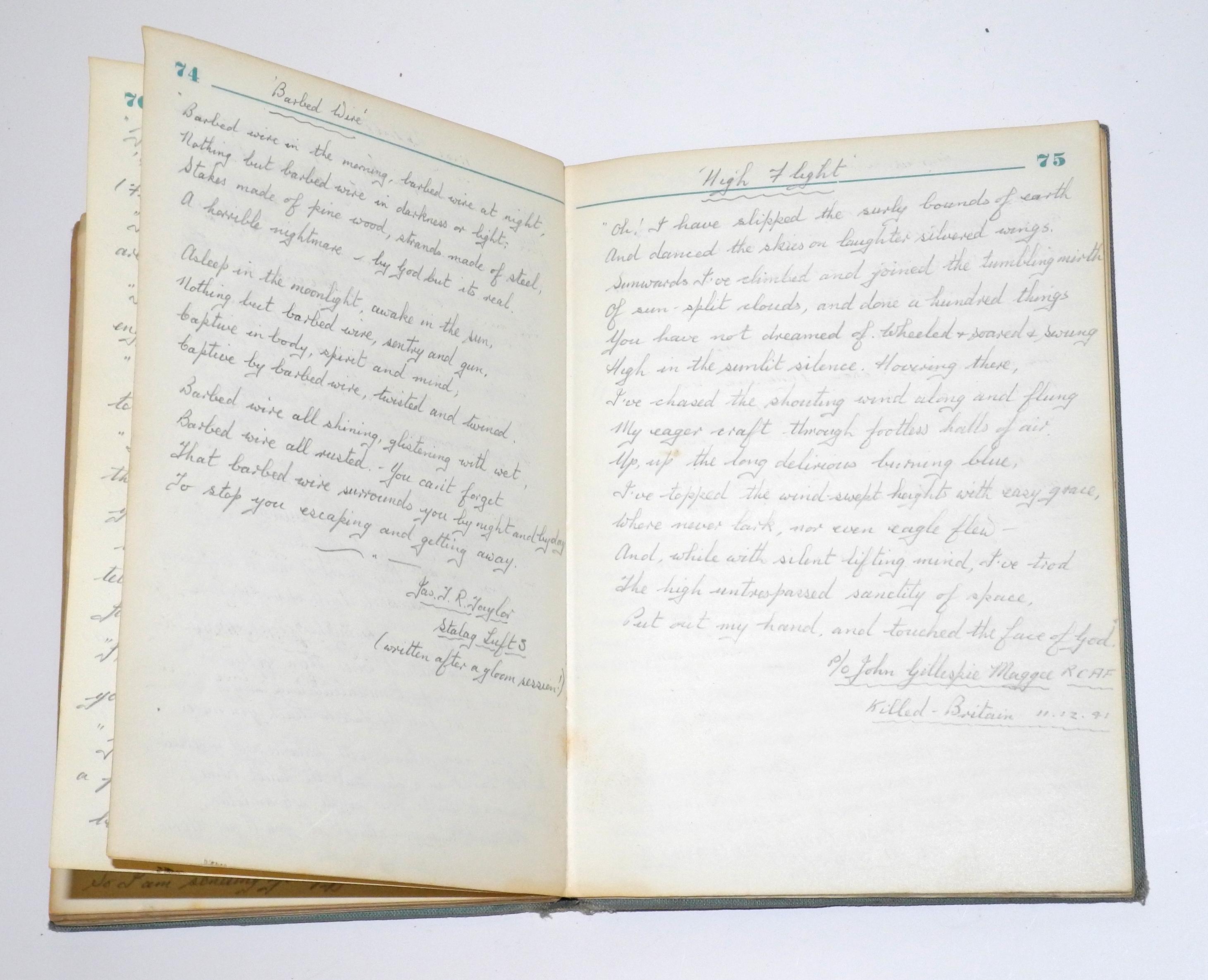 RAF Sagan POW diaries
