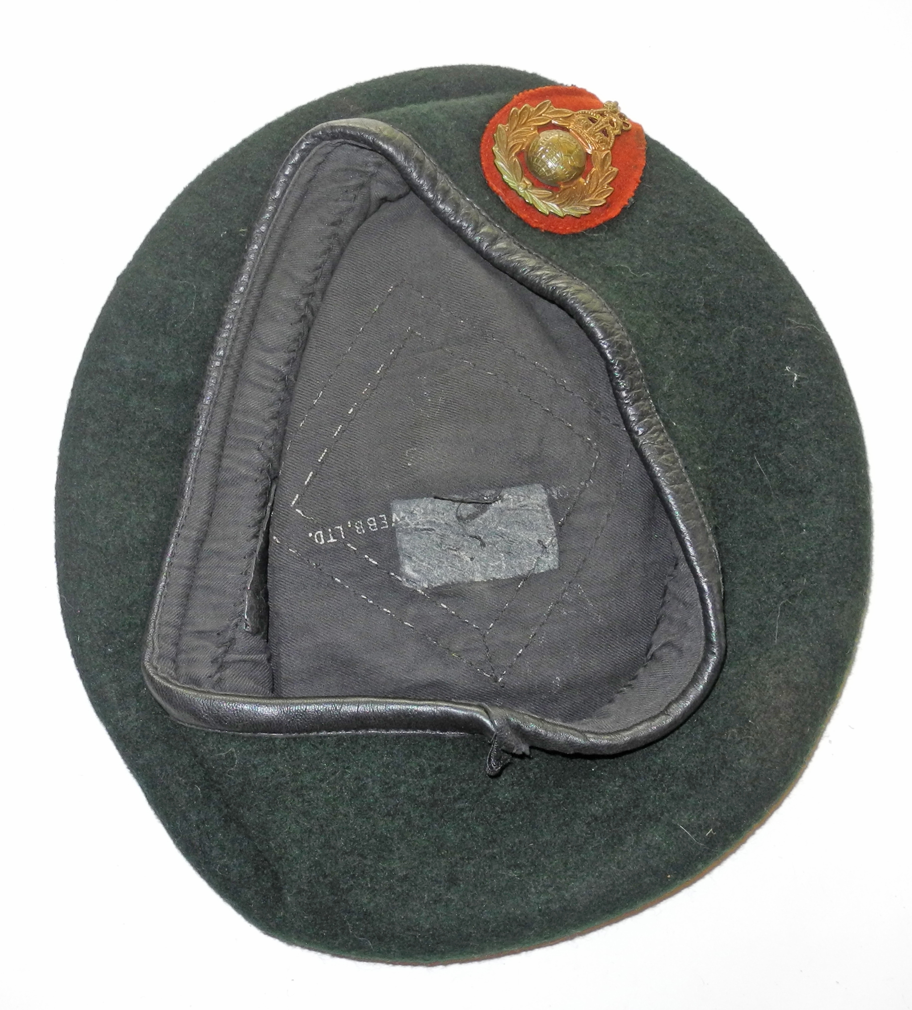 Royal Marine Commando green beret