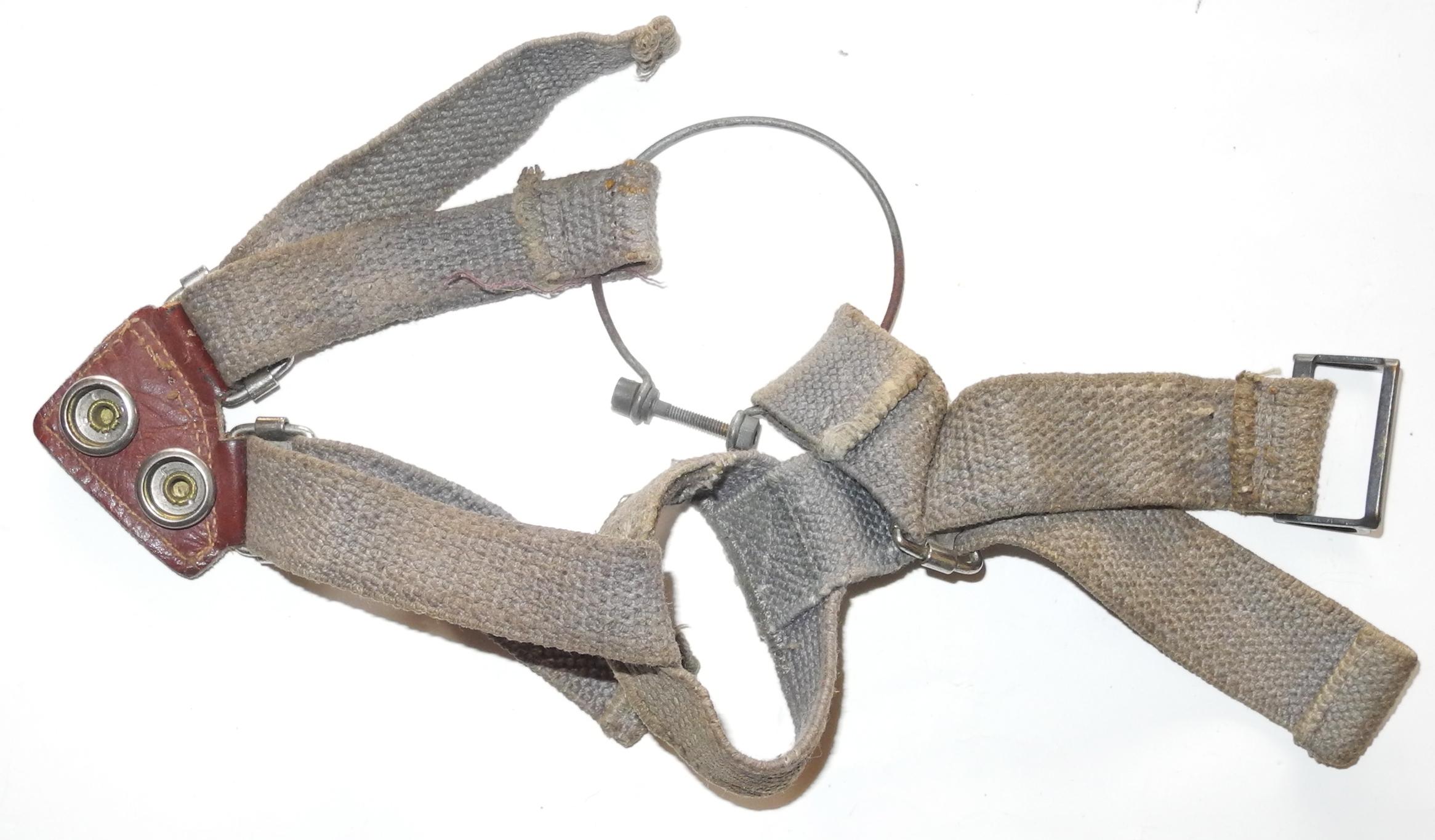 RAF Type G Oxygen Mask harness.
