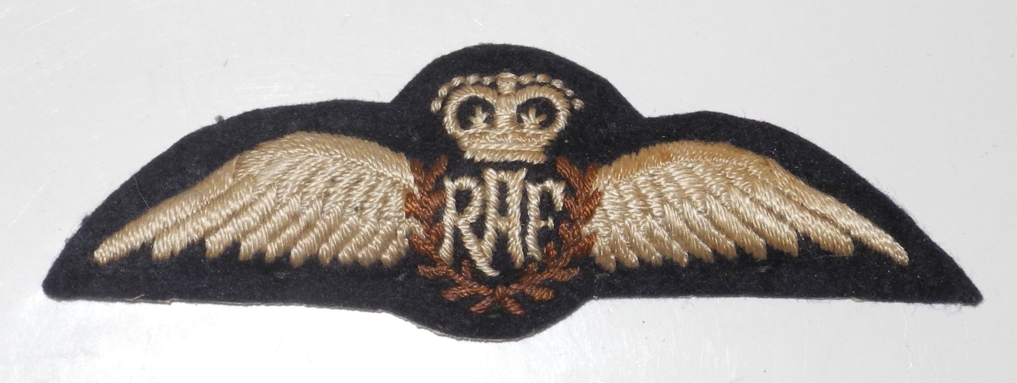 Early post-war RAF pilot wing