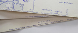RN WWII Admiralty charts (27) $200