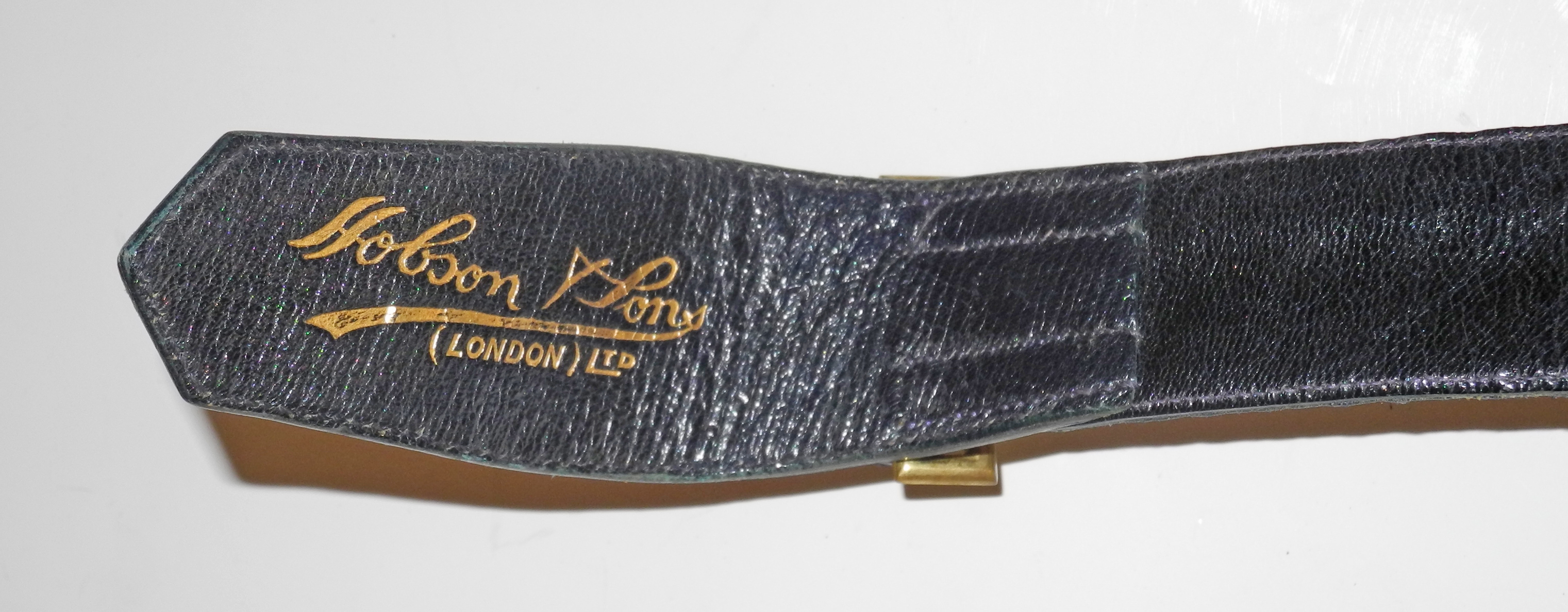 WWII RAF full dress ceremonial sword belt