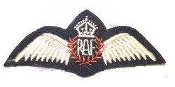Canadian made WWII RAF pilot wing