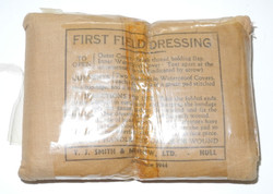 First Field DRessing - still in cellophane wrapping