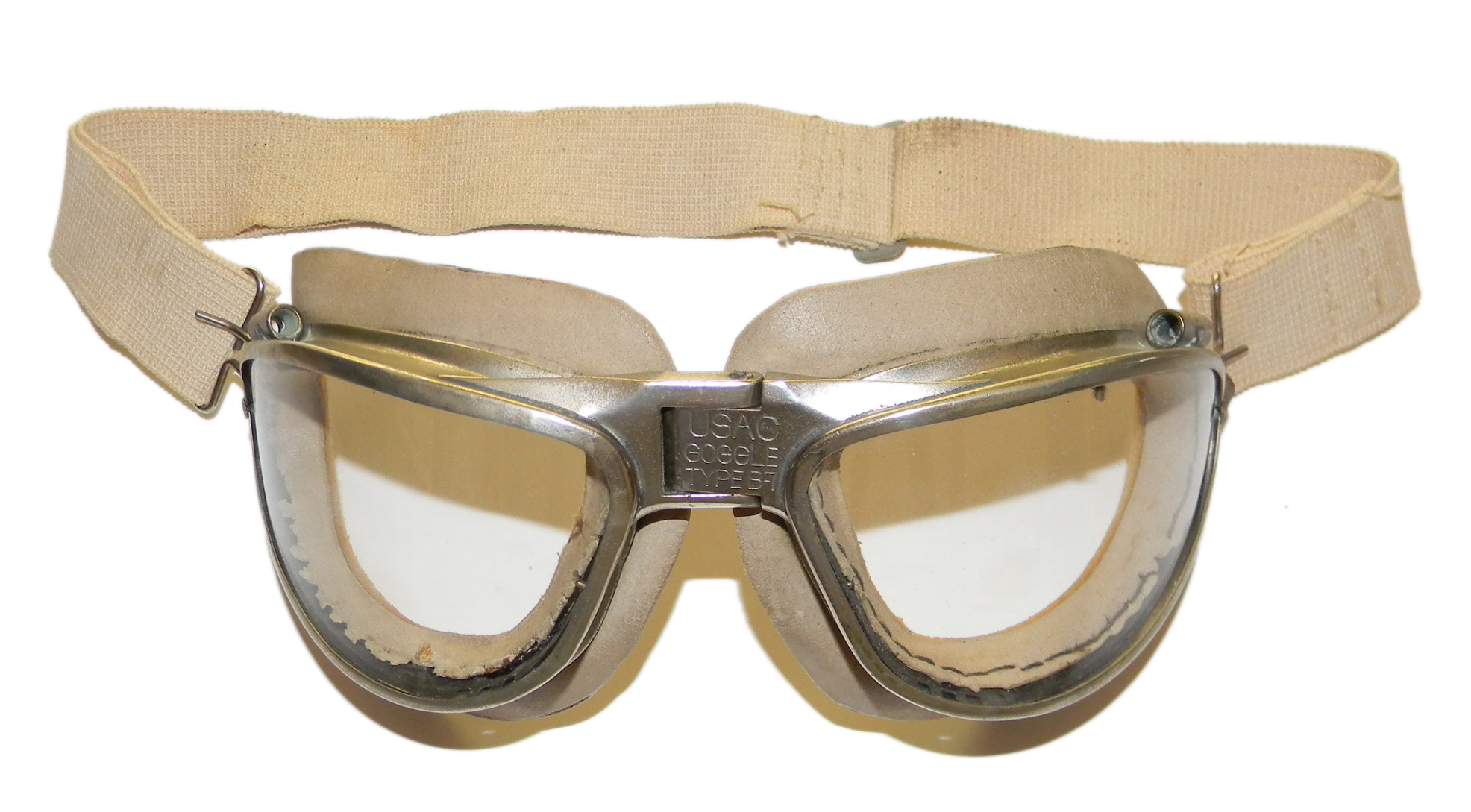Army Air Corps B-7 flight goggles