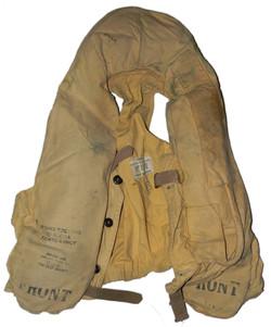 RCAF 1932 pattern life vest