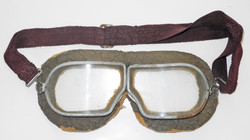 WWII Soviet flying goggles