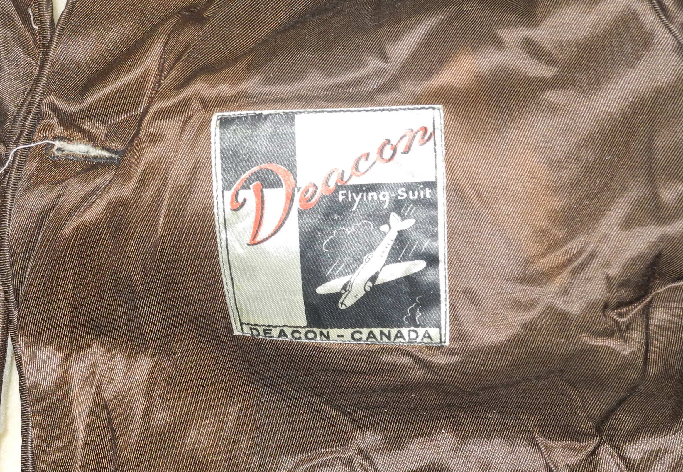RCAF flying suit liner