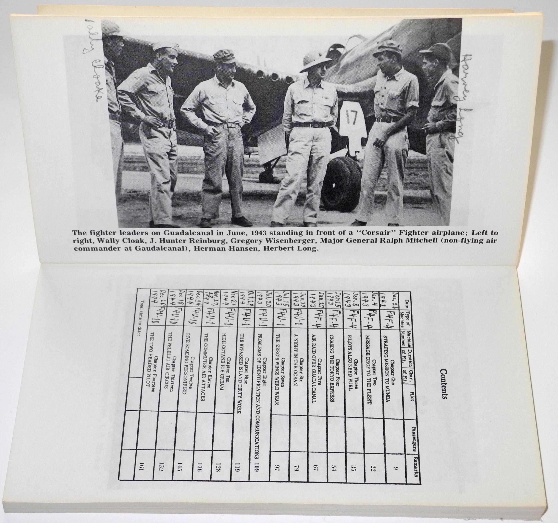 WW2 USMC Pilot's personal biography