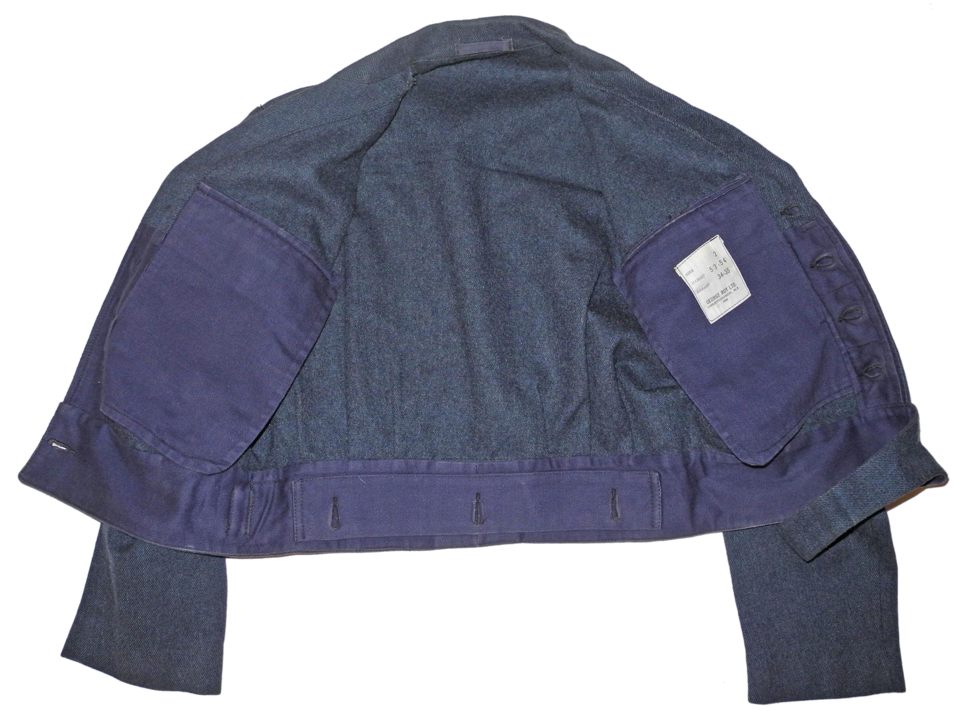 RNZAF battledress blouse dated 1964