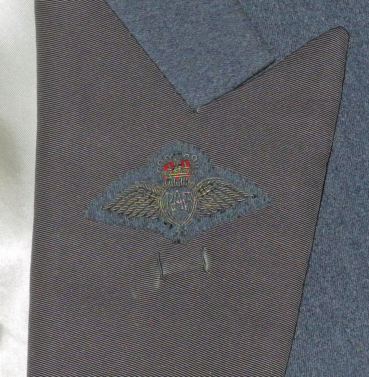 RAF mess dress, complete but unmatched set8780