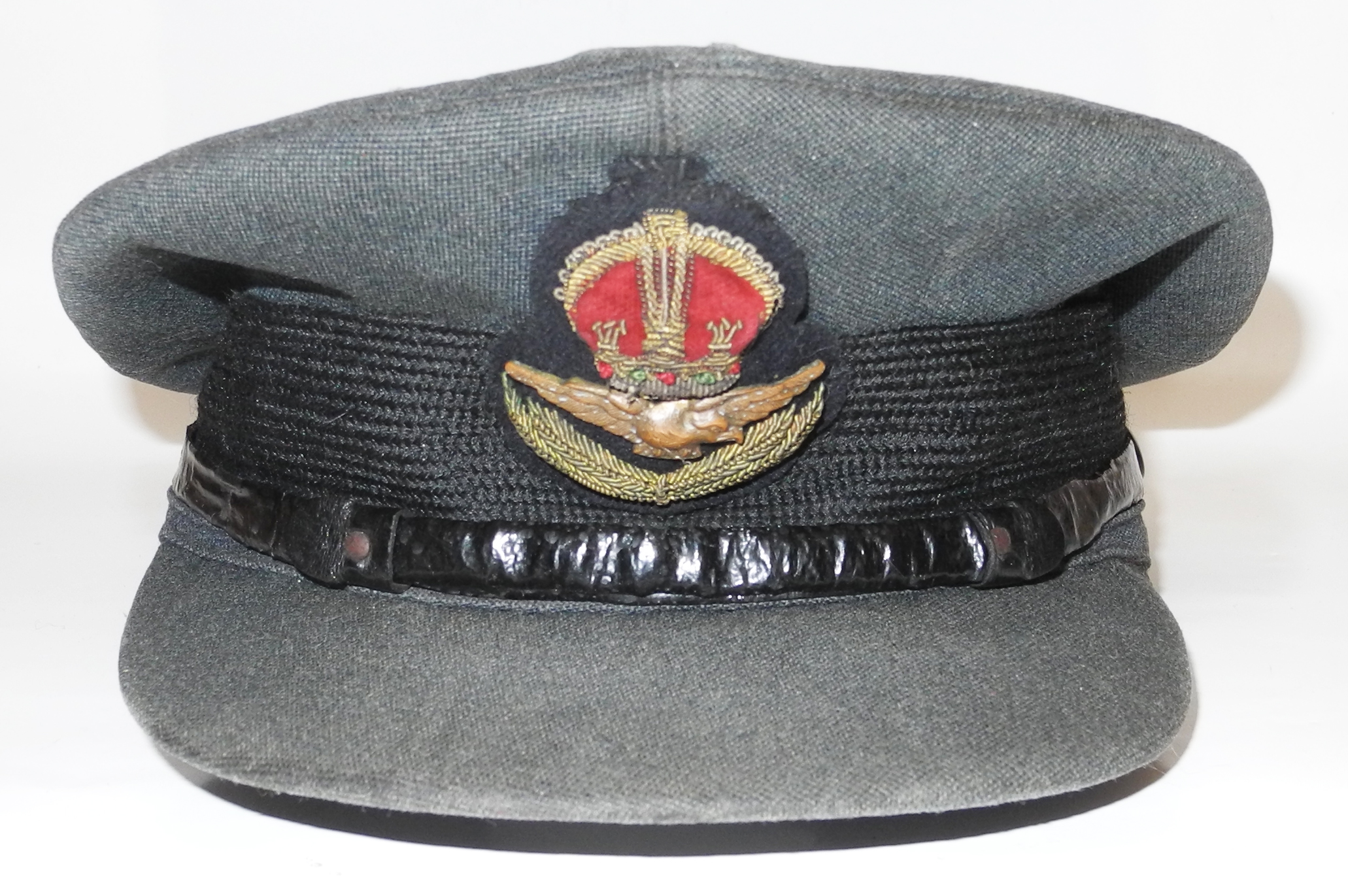 RAF/RCAF officer's service dress peaked cap