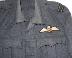RAF Suits, Aircrew, Blouse, early example 1943 dated