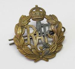 RAF other ranks caps badge
