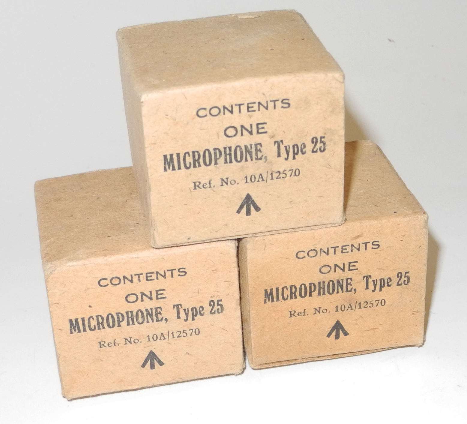 RAF box for Type 25 microphone