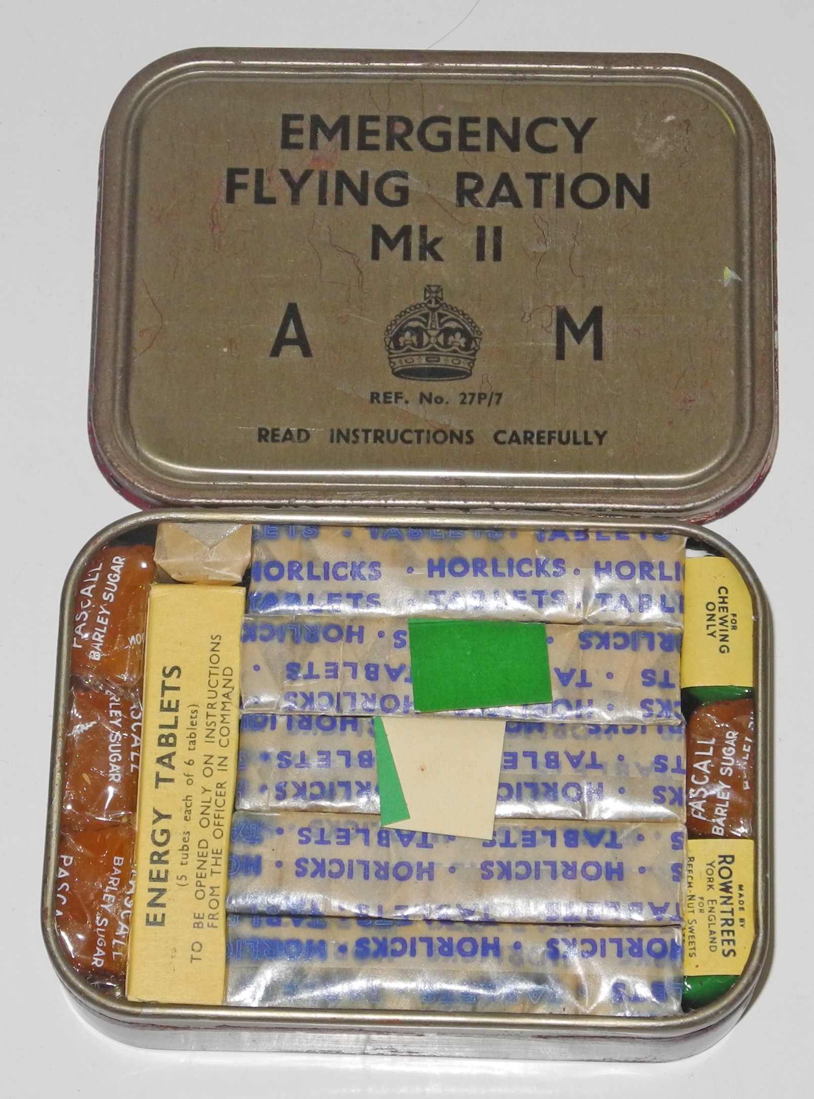 RAF Emergency Flying Ration Mk II
