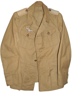 LW enlisted tropical uniform tunic