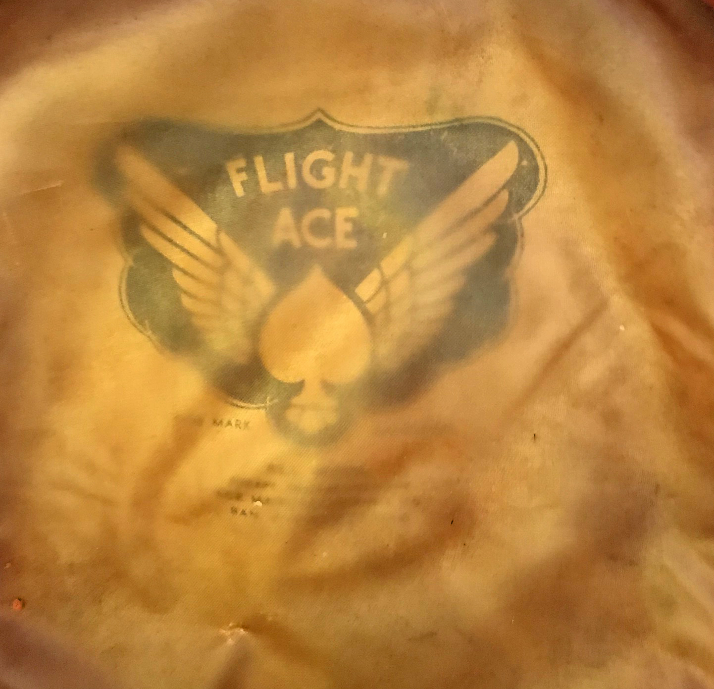 "AAF ""Flight Ace"" tan crusher"