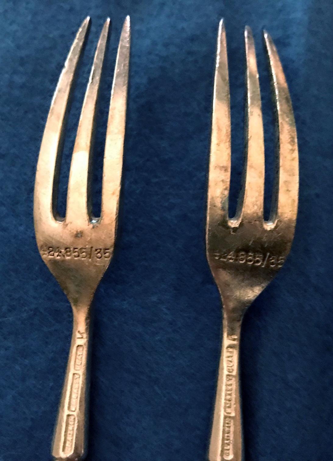 RAF Cocktail Fork 1935-Gladwin9