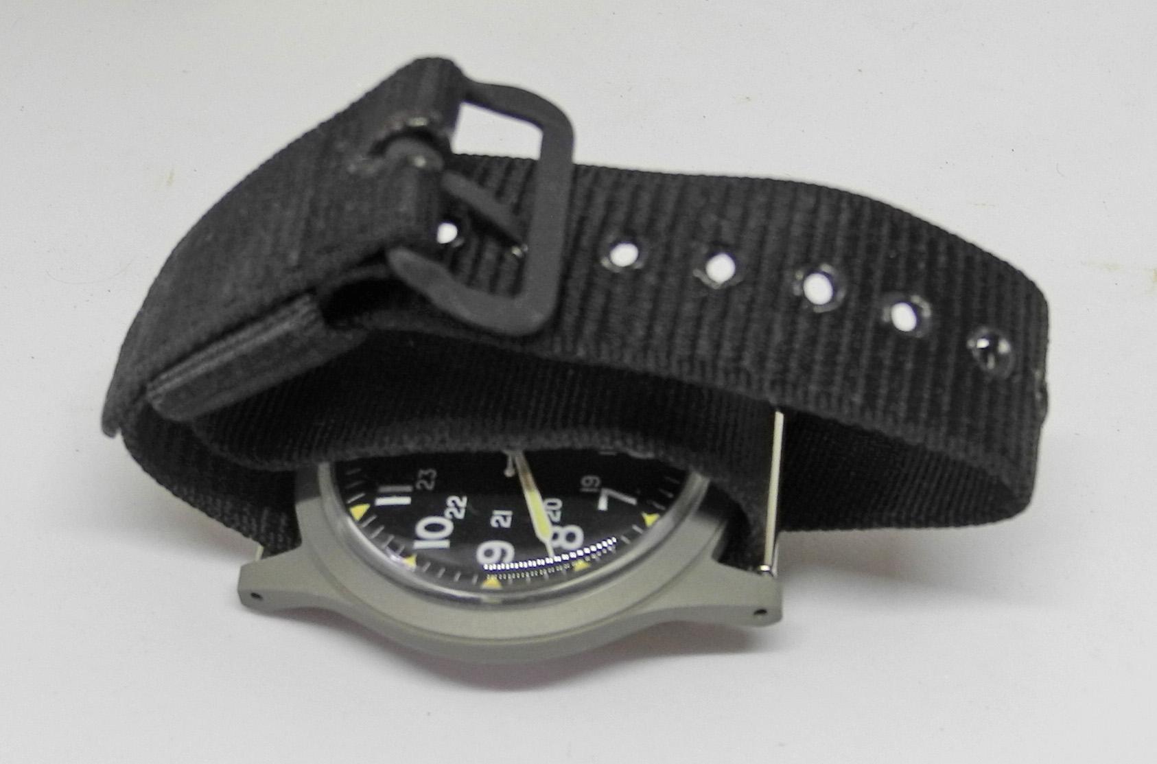 USAF wristwatch Vietnam era boxed