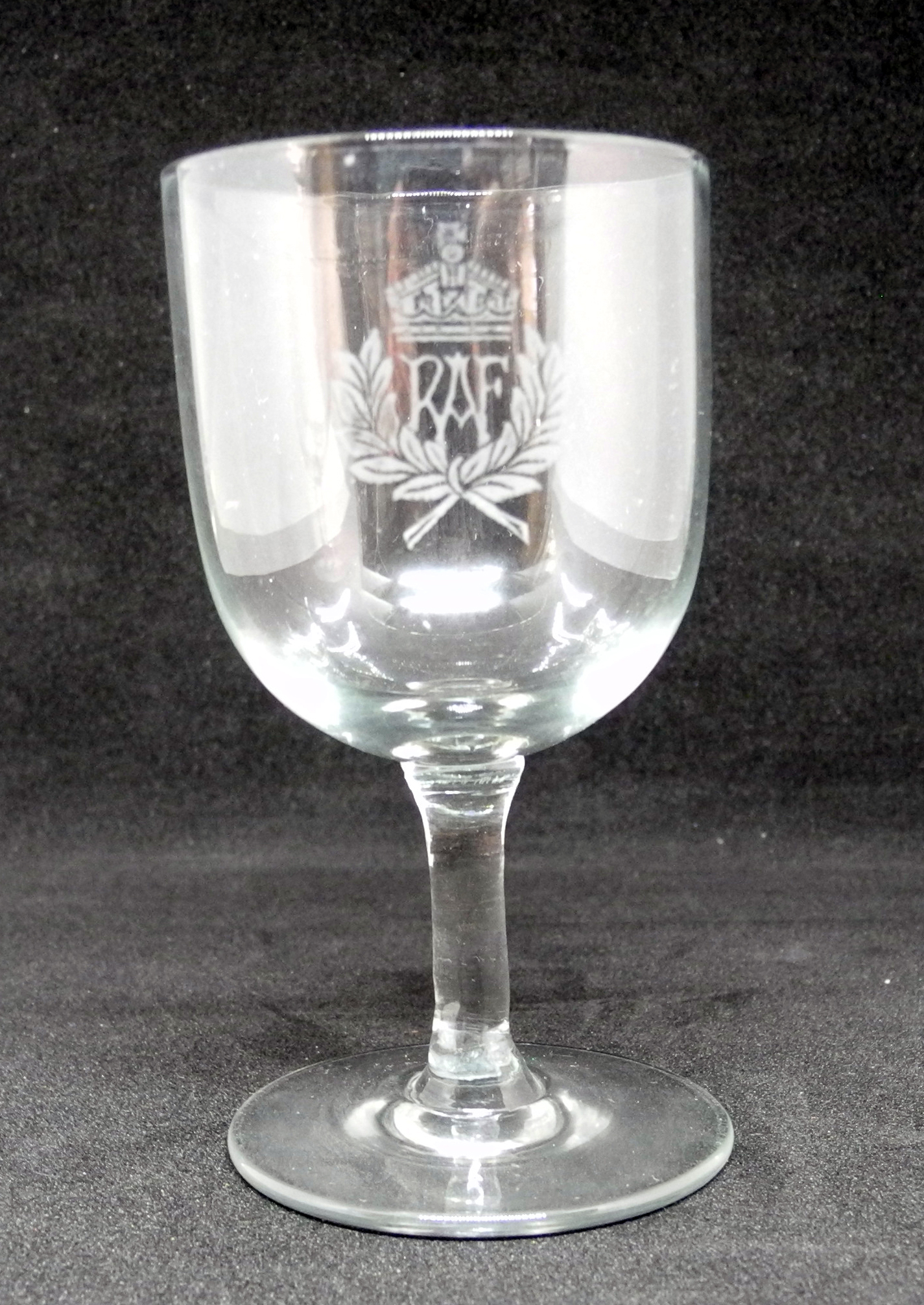 RAF sherry glasses