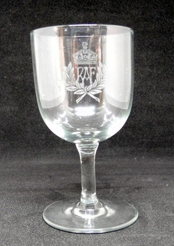 RAF sherry glasses