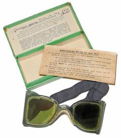 RAF Mk VI anti-glare spectacles