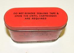 RAF K dinghy pack flare tin