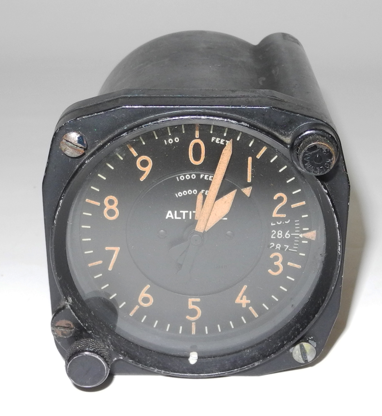 AAF Altimeter for a P-38 aircraft